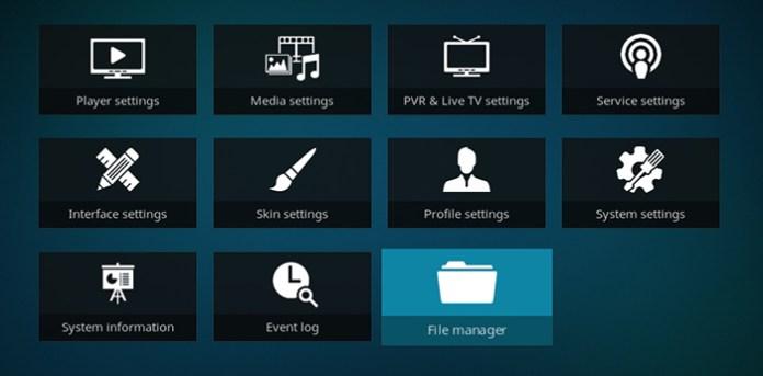 Wolf Pack Kodi Addon - File Manager