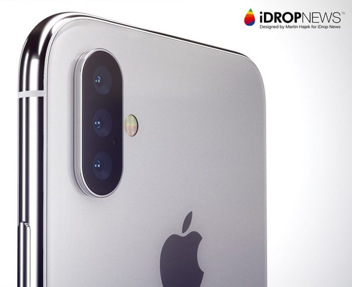 Apple Tipped to Launch iPhone with Triple Rear Cameras in 2019