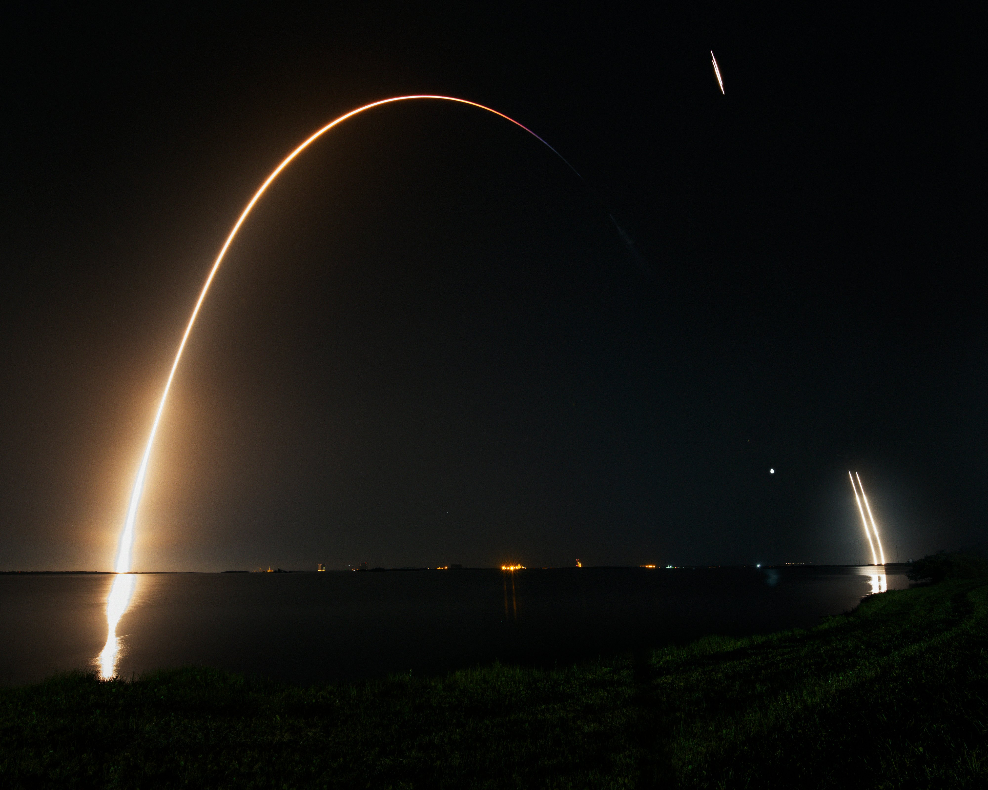 Spacex S Latest Falcon Launch Has Put A Solar Sail Into