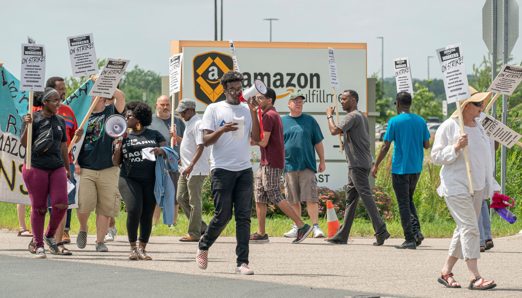 Amazon employees are going to strike over the firm's climate policies