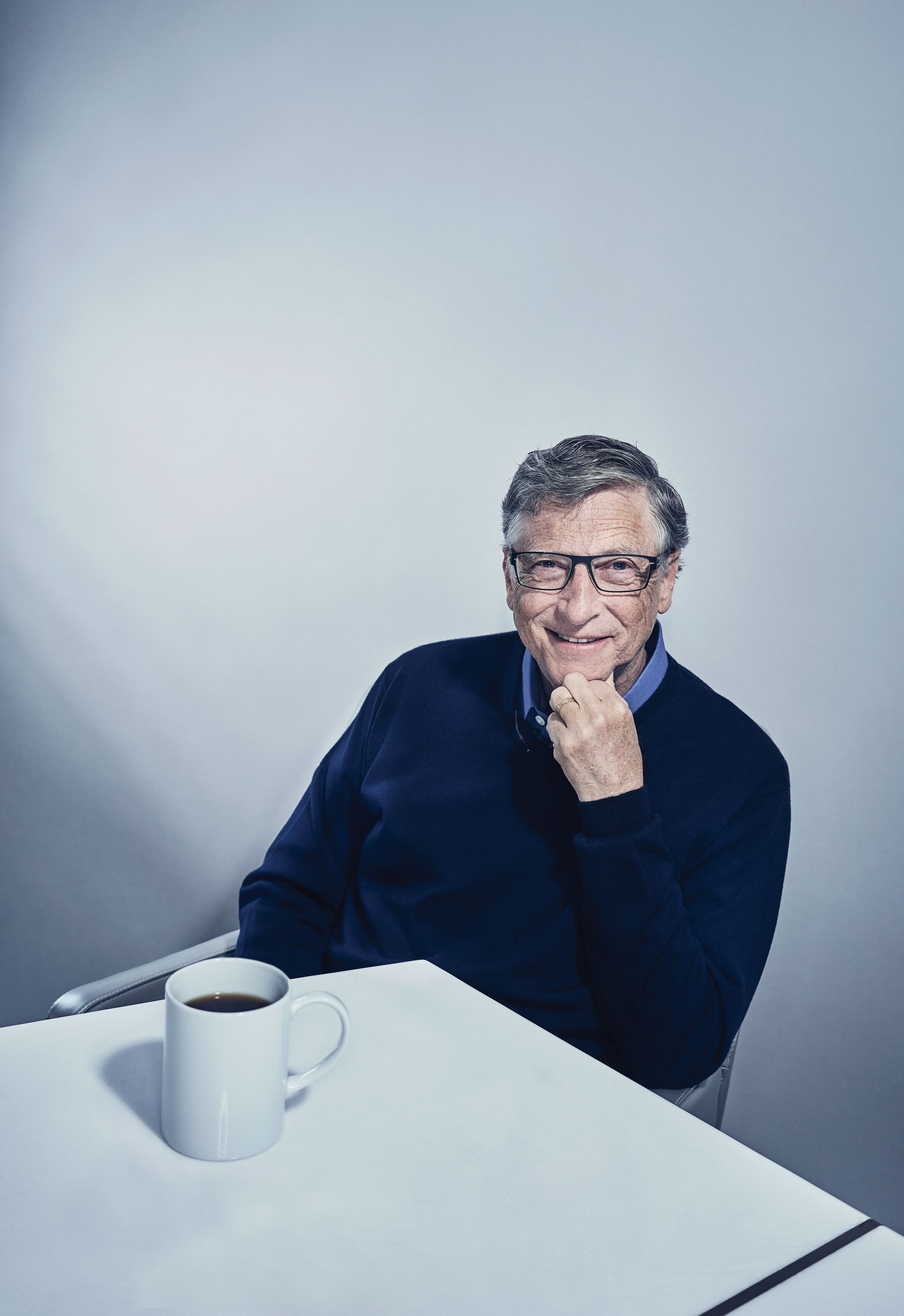 Bill Gates How We Ll Invent The Future Mit Technology