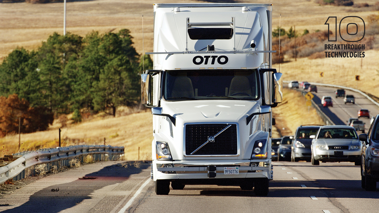 hight resolution of self driving trucks 10 breakthrough technologies 2017 mit technology review