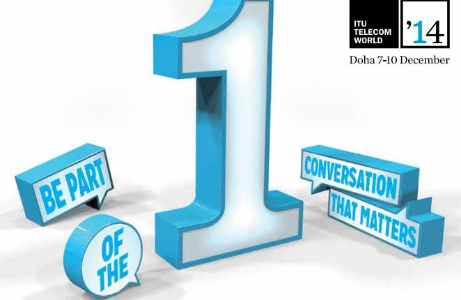 ITU Telecom World 2014 Doha official representation