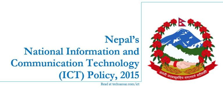Nepal's ICT Policy 2015, read in TechSansar.com/ICT