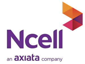 New brand logo of Ncell – an Axiata company.