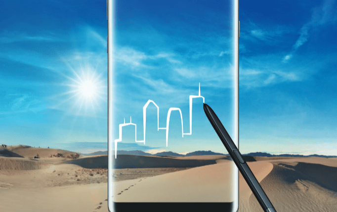 Samsung Galaxy Note 8 in Nepal
