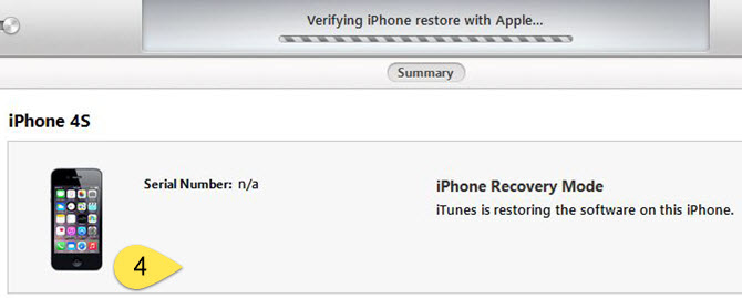 Update & recover multiple iOS devices offline - How to