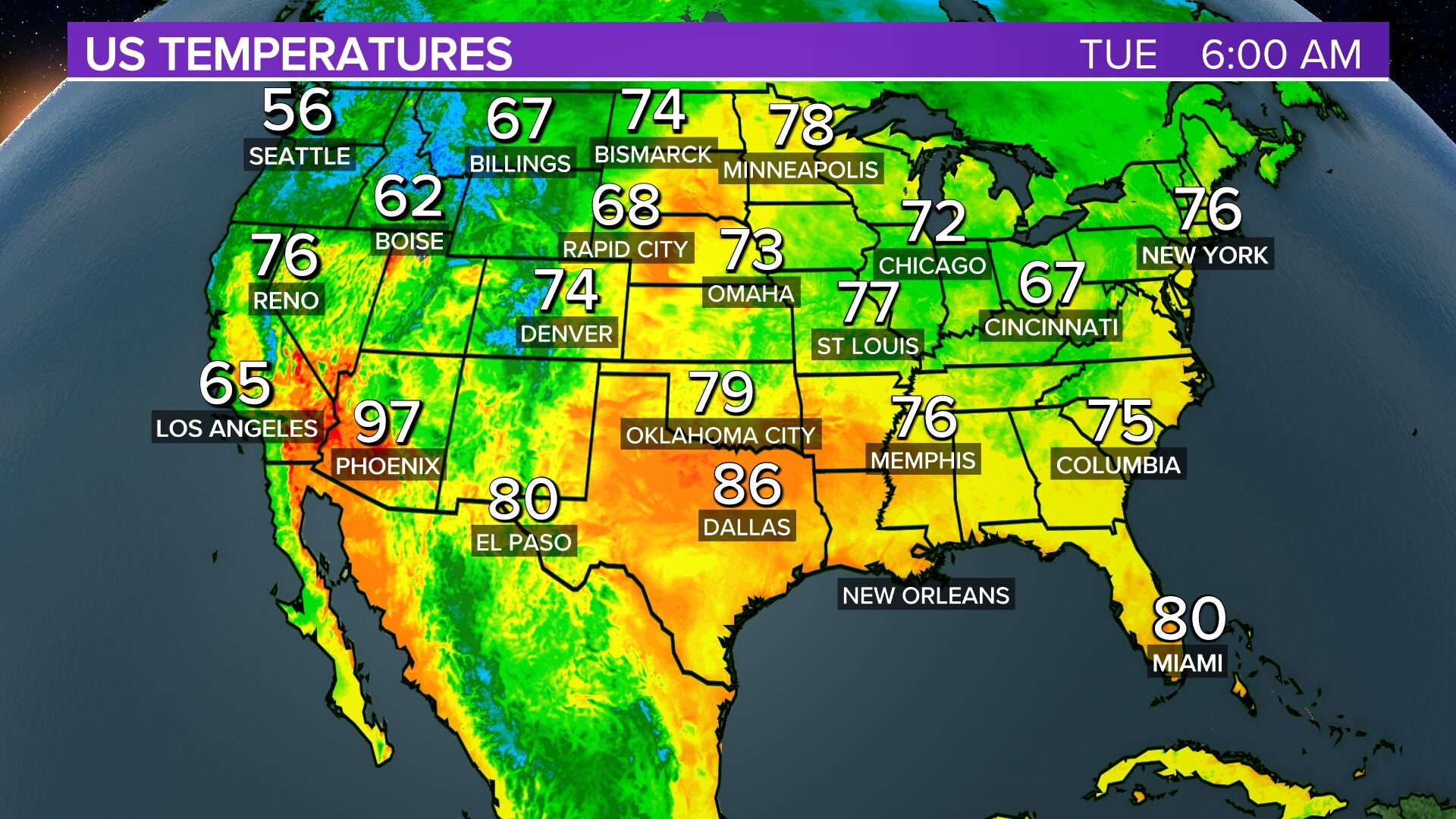 Stores Map Us Tuesday Morning Pinpoint