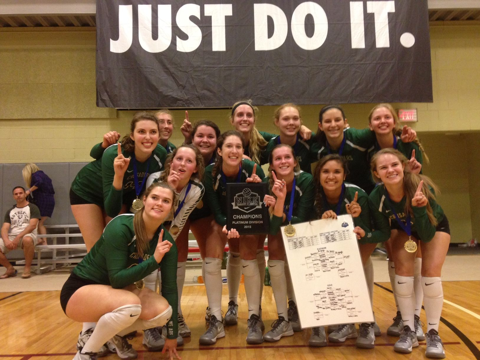 Jesuit High Volleyball Team wins national tournament | USA