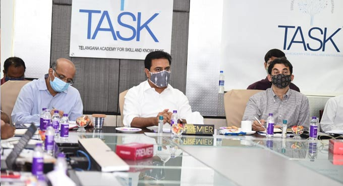 TS IT Policy 2021-26 Announced By KTR