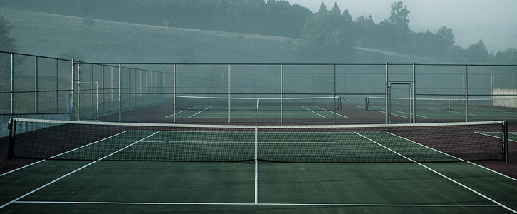 measurement of tennis court with diagram 2004 grand cherokee wiring a dimensions layout