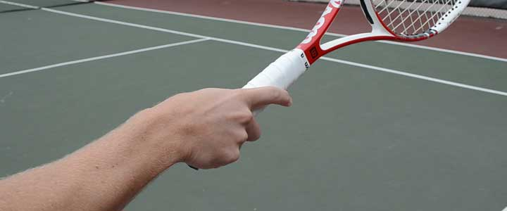 Tennis Racket Diagram How To Grip A Tennis Racket