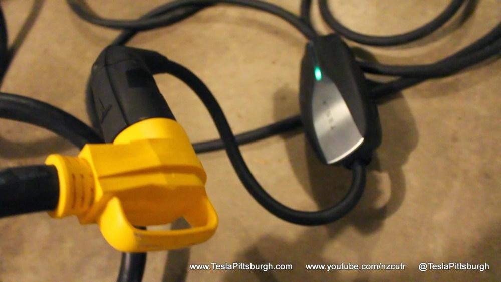 medium resolution of tesla umc extension cord 90 degree plug