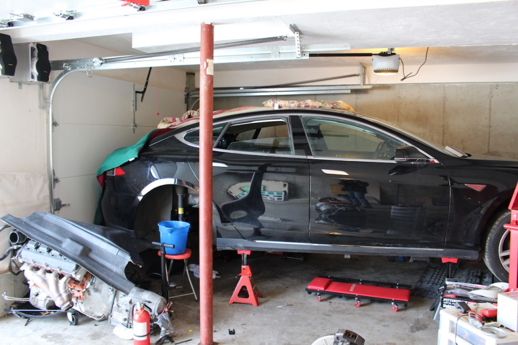 Repairing A Salvage Tesla Model S Due To Flood Damage