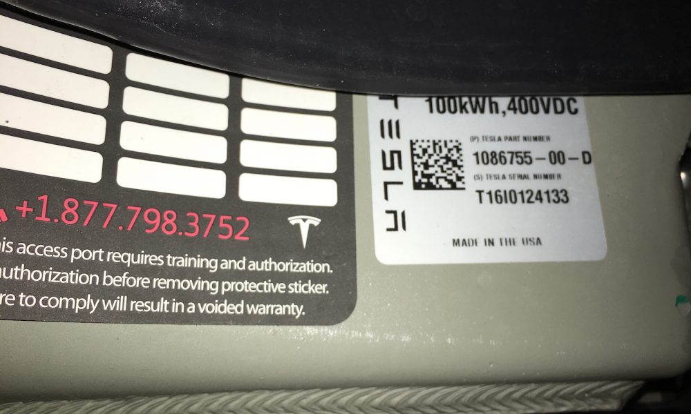 Teslas 100 KWh Battery Pack Is As Big As It Gets For Now
