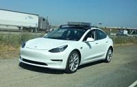 Tesla Model 3 roof rack system spotted, new car delivered ...