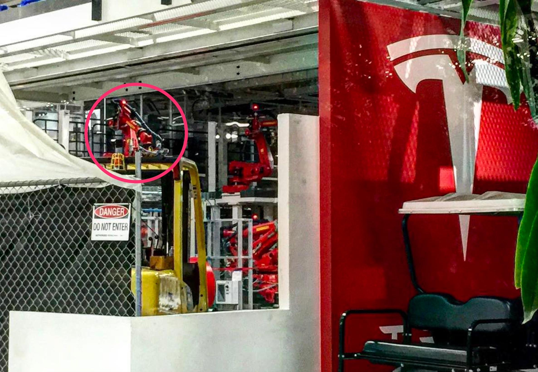Tesla Model 3 Production Line Sighted As SN1 Build Begins