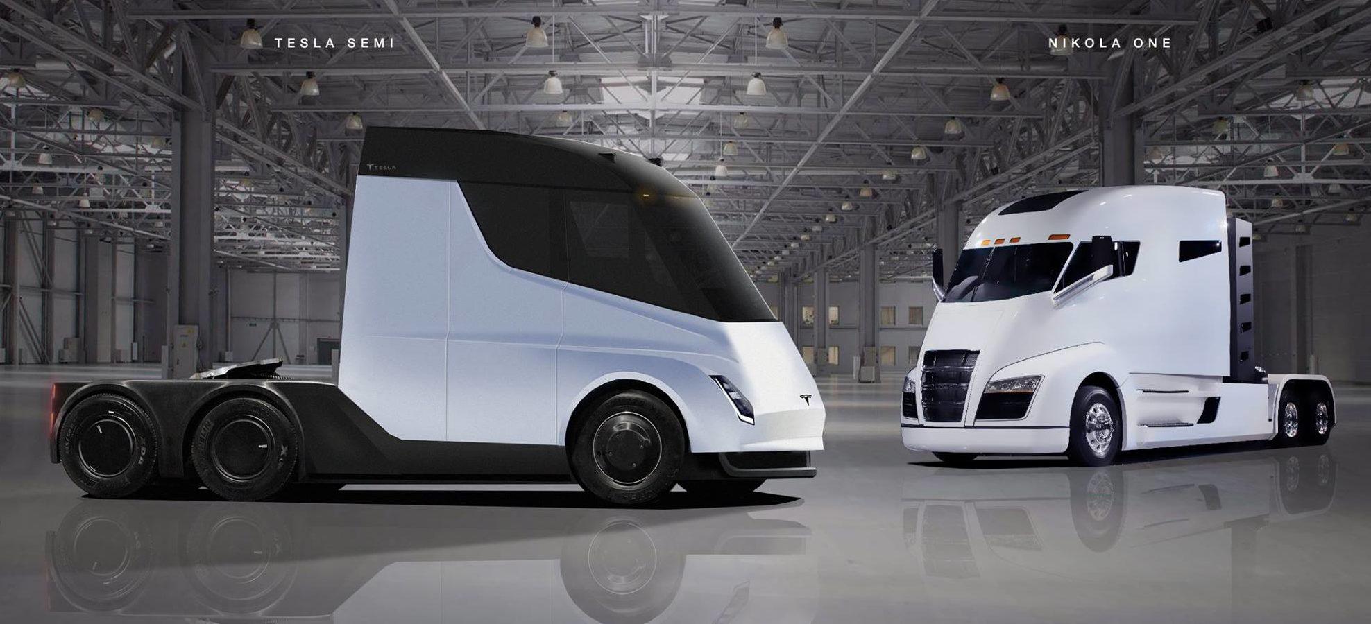 Tesla Semi Truck Interior