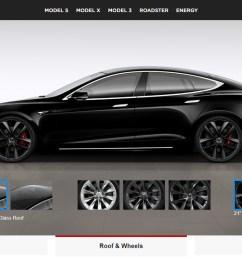 tesla adds black arachnid wheel and ventilated seats to p100d trim levels [ 1899 x 834 Pixel ]