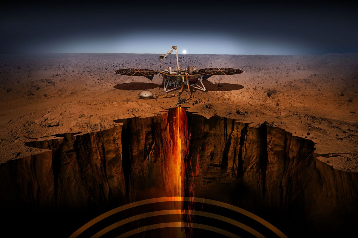 Nasa S Mars Insight Shares First Images From The Red Planet