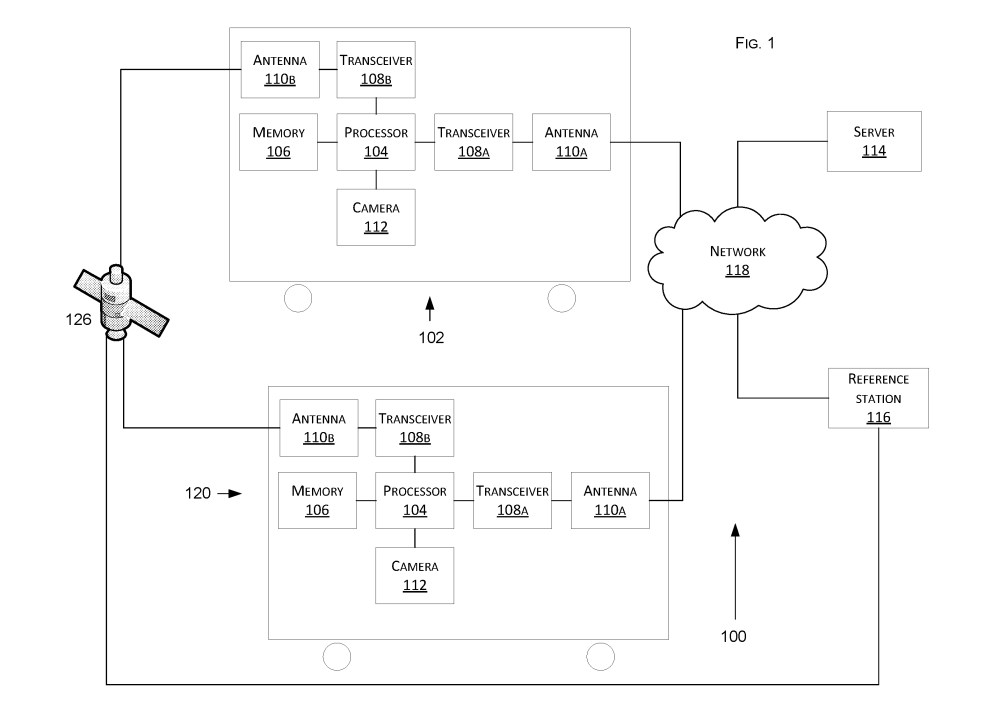medium resolution of a diagram of tesla s technologies for vehicle positioning patent credit us patent office