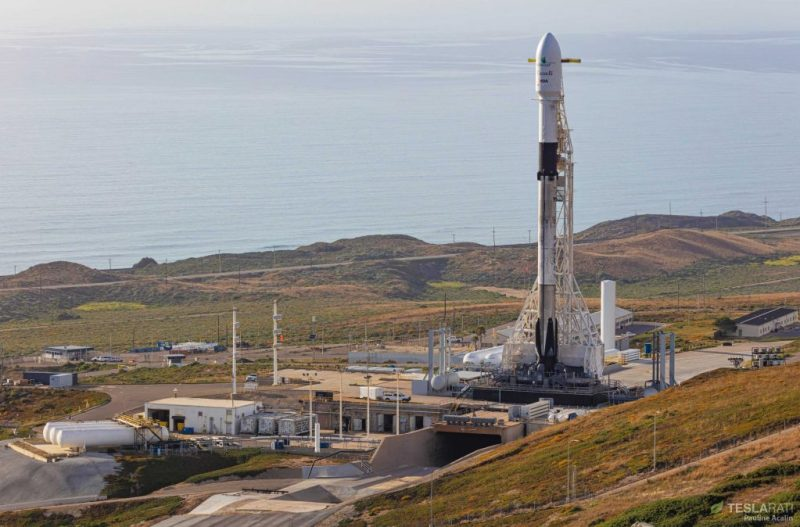 Falcon 9 B1051.1 is ready for its second launch.
