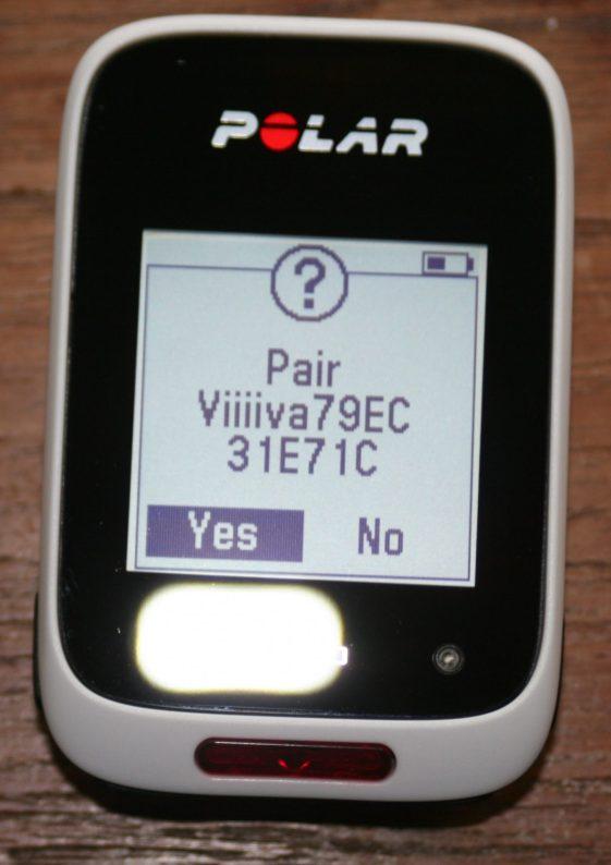 Polar M450 Pairs to ANT+ bePro power meter Via 4iiii Viiiiva V100