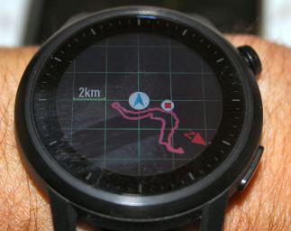 Coros Apex Navigation