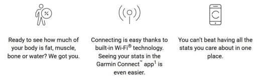 Garmin index s2 review smart scale