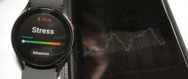 Samsung Galaxy Watch 4 measure stress watch4 review