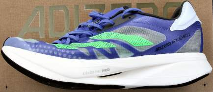 outside side view of adidas Adizero Adios Pro 2 review
