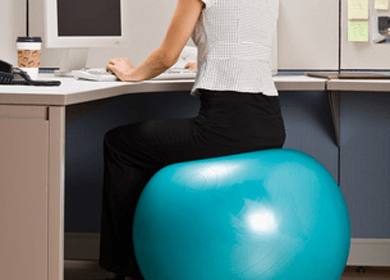 fitball balance ball chair kitchen chairs on wheels 4 reasons why your butt should be an exercise instead of a desk