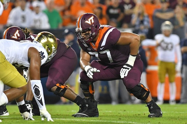 Starting OT Christian Darrisaw is latest example of Virginia Tech  uncovering an under-recruited gem – The Athletic