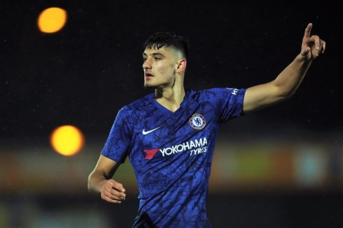 Meet Chelsea's Armando Broja: the teenage forward given new deal ...