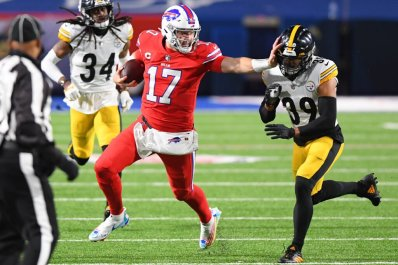 Josh Allen, Bills join elite company after win over Steelers – The Athletic