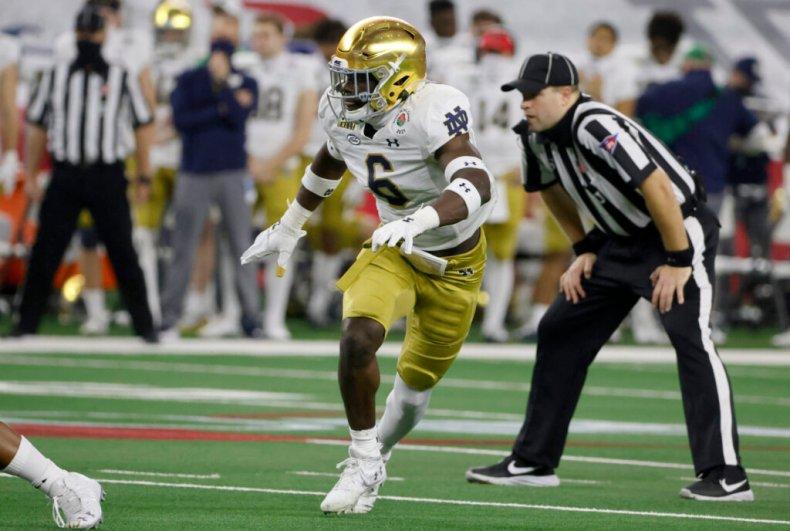 Jeremiah Owusu-Koramoah could fit Raiders' draft needs – The Athletic