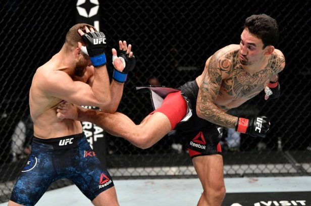 Max Holloway looked unbeatable on Saturday. Is another title shot next? –  The Athletic