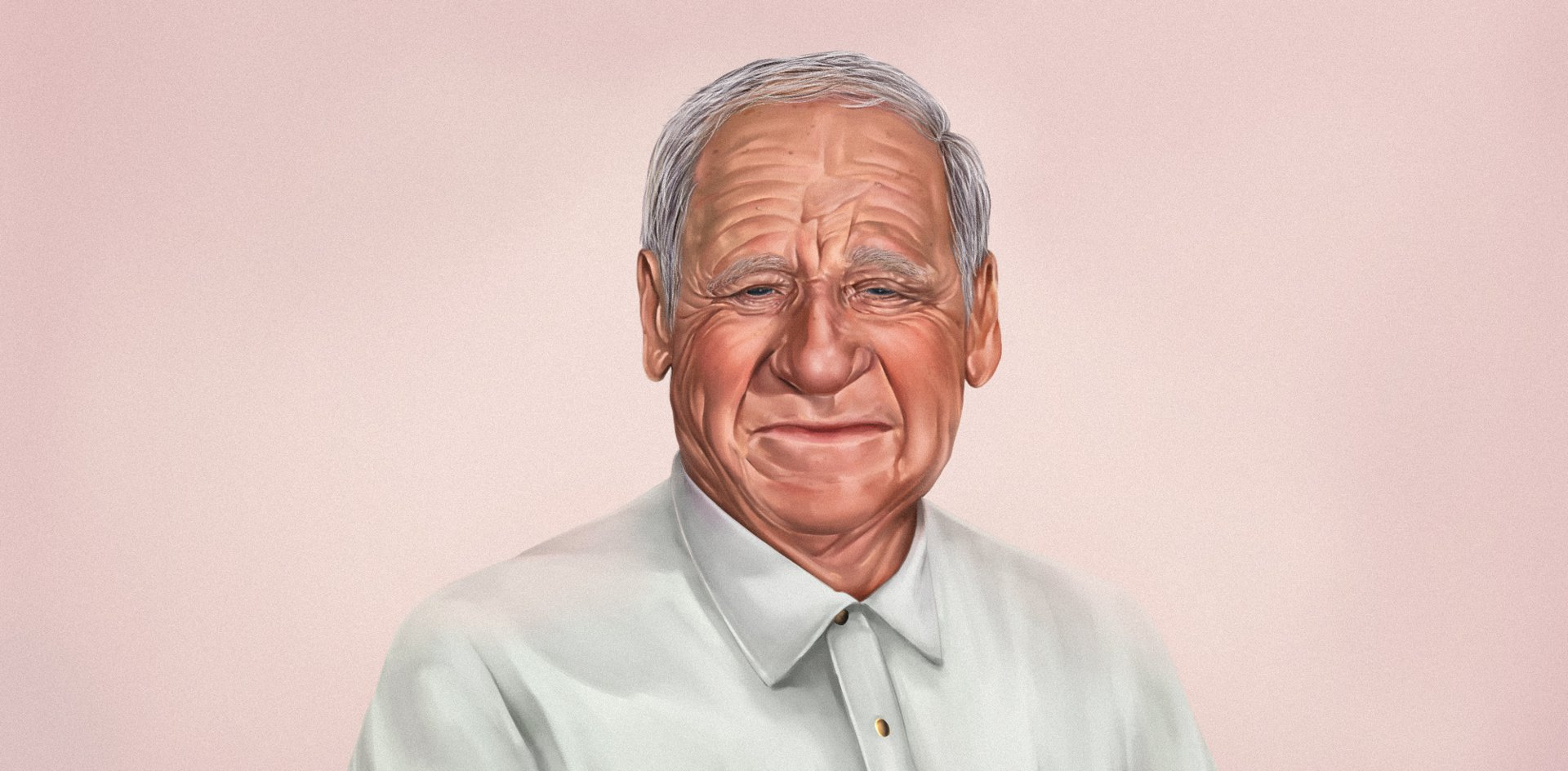 mel brooks portrait of