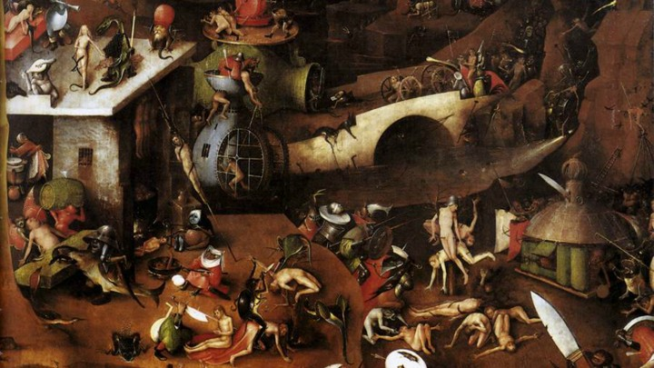 Hieronymus Bosch S Vision Of Hell Lives On Today 500