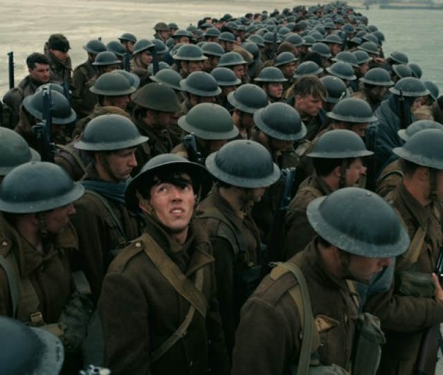 A Group Of Soldiers In Dunkirk