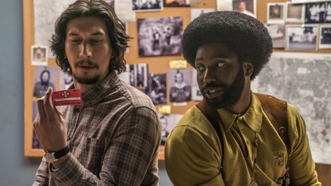 A still from 'BlacKkKlansman'