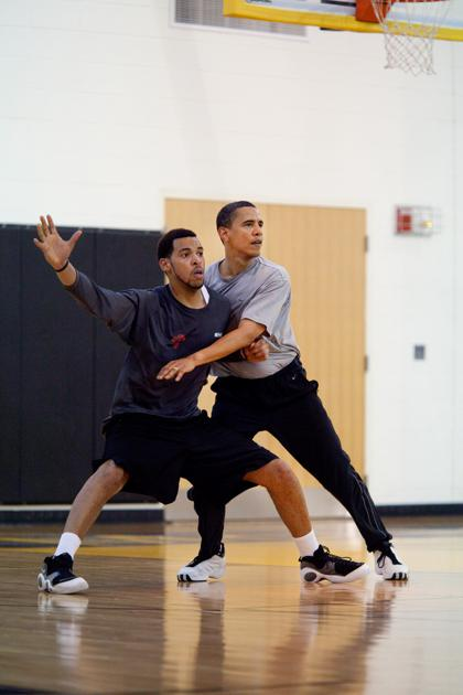 President Obamas Love for Basketball in Photos  The Atlantic