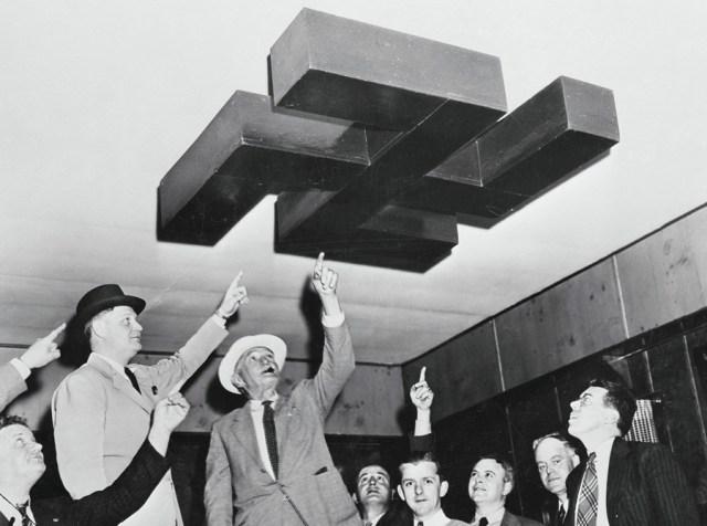 Jedna z sal w obozie amerykańskich nazistów.