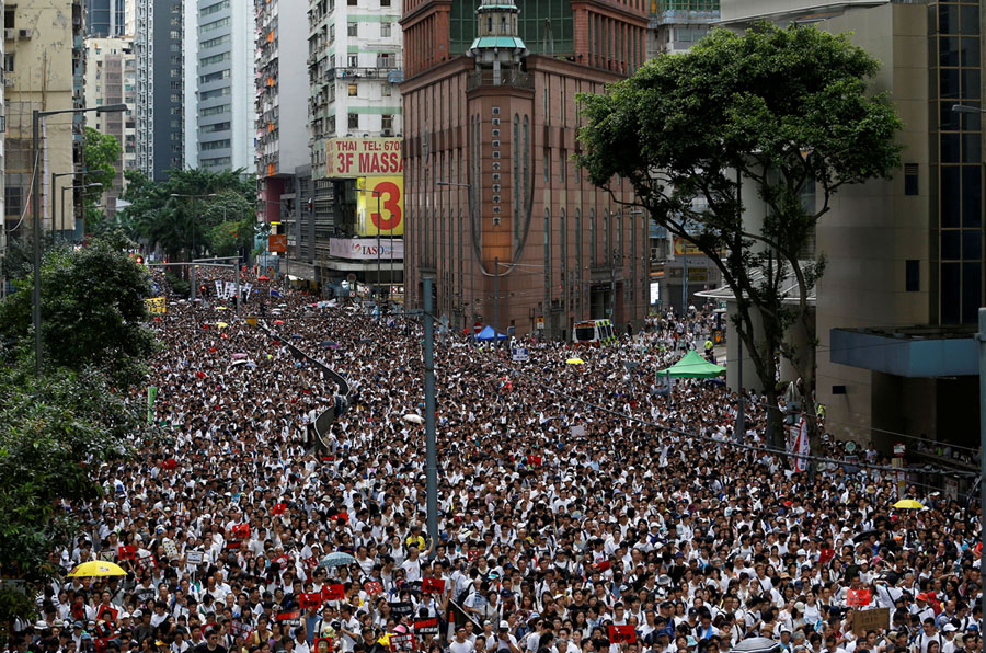 Hong Kong Extradition-Bill Protests in Photos - The Atlantic