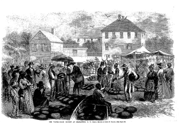 Soon after winning their emancipation, many African Americans sold watermelons in order to make a living outside the plantation system.