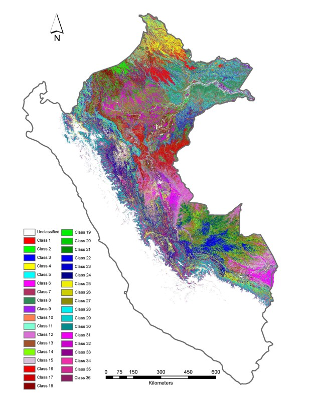 amazon rainforest chemical mapping