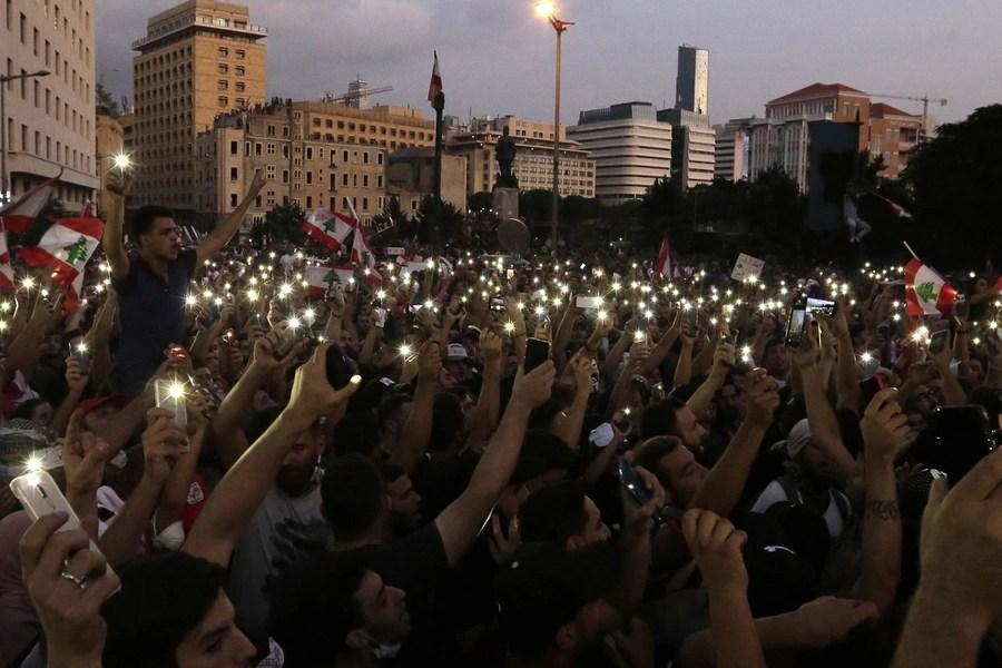 Photos: Anti-Government Protests in Lebanon - The Atlantic