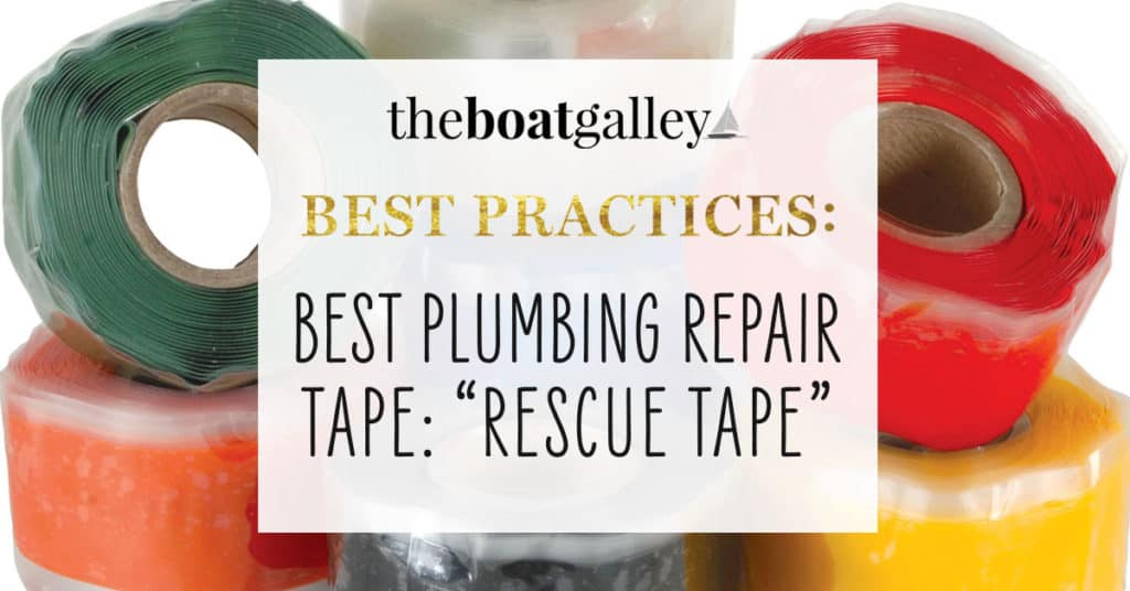 rescue tape the boat galley