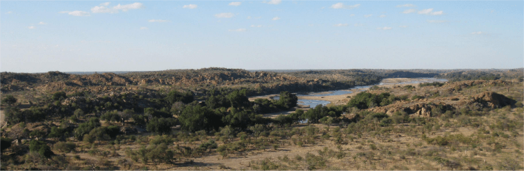 What's happening deep within the Earth, beneath the Limpopo River Valley? Credit: John Tarduno, CC BY-ND