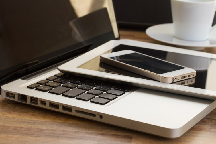 How much data do you still store only on your mobile, tablet or laptop? Shutterstock/Neirfy
